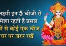 इन 5 चीजों पर होती है मां लक्ष्मी की विशेष कृपा, घर पर जरूर रखें इनमें से कोई एक