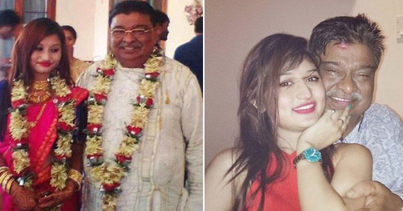 70 साल के बुजुर्ग से इस जवान लड़की ने की शादी, आखिर क्या है मजबूरी जानिए इसके बारे में