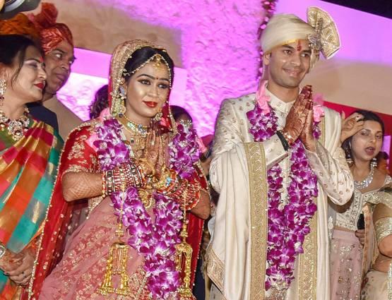 तेजप्रताप की शादी पर बीजेपी की चुटकी 'विपक्ष की एकता की हवाबाजी गुल'