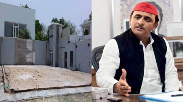 बंगला विवाद पर अखिलेश ने तोड़ी चुप्पी, बोलें 'मुझे मेरा मंदिर वापस करा दो'