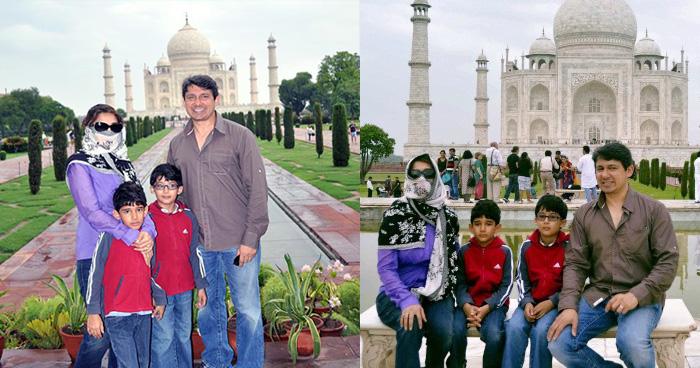 साधारण लोगों की तरह 'Taj Mahal' देखने पहुंची थी माधुरी दिक्षित, नहीं पहचान पाए लोग