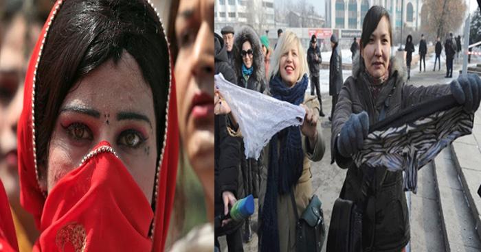 इन देशों में हैं महिलाओं के लिए अजीबो-ग़रीब नियम, जानकर पकड़ लेंगे अपना माथा