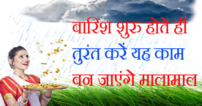 बारिश शुरू होते ही तुरंत करें ये एक काम, कुछ ही दिनों में बन सकते हैं आप करोड़पति, जानें कैसे?