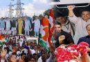 राहुल गांधी के रोड शो में हुआ तमाशा, 11 कन्याओं ने उतारी आरती और 21 पंडितों ने किया मंत्रजाप