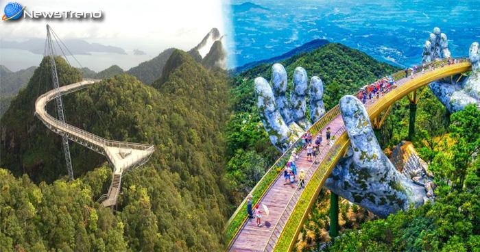 Photo of ये हैं दुनिया के अनोखे पुल: जिनको देखकर थम जाएंगी आपकी सांसे