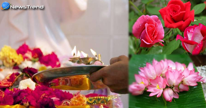 पूजा में फूल का महत्व pooja mein phool ka mahtva