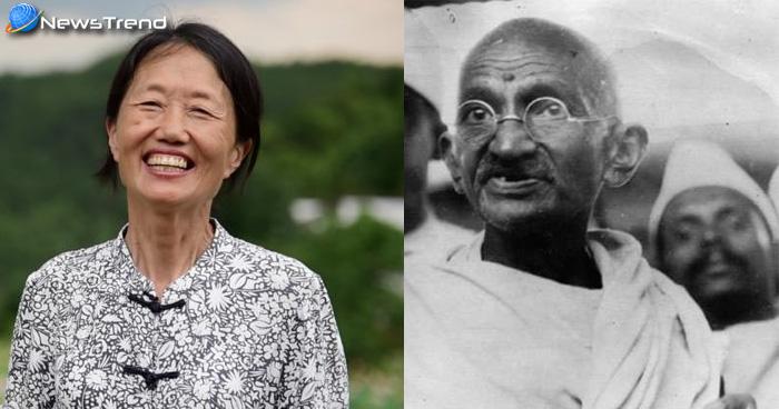 गांधी जयंती : भारत के राष्ट्रपिता की नीतियों पर चलती है चीन की ये महिला