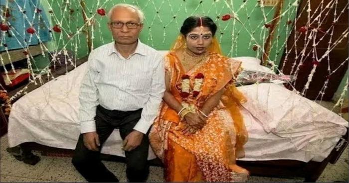 Photo of 65 साल के बुजुर्ग ने अपनी 21 साल की बहु से की शादी, पूरे इलाके में मच गया बवाल