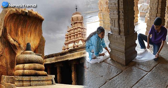 Photo of लोपाक्षी मंदिर का हवा में झूलता खंभा आज भी दे रहा विज्ञान को चुनौती