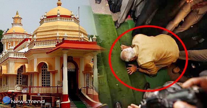 Photo of कभी सोचा है कि मंदिरों में प्रवेश से पहले क्यों छुए जाते हैं सीढ़ियों के पैर