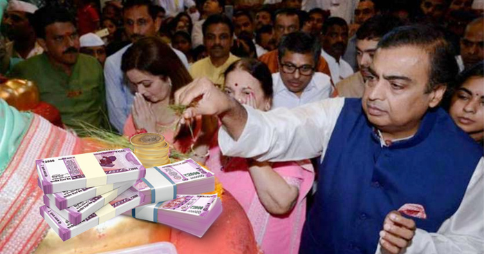 Photo of बेटी की शादी का पहला कार्ड देने केदारनाथ पहुंचे मुकेश अंबानी, दान में दे डाले इतने लाख रुपये