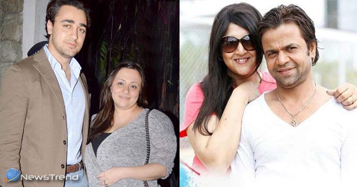 सबसे ज्यादा वजन है बॉलीवुड के इन अभिनेताओं की पत्नियों का, चौथे नंबर वाली का वजन है सबसे ज्यादा