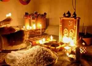 दीपावली पूजन सामग्री