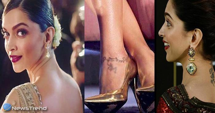 गर्दन के टैटू के बाद दीपिका के लिए मुसीबत बना पैर का टैटू, लिखवा रखा है इस शख्स का नाम