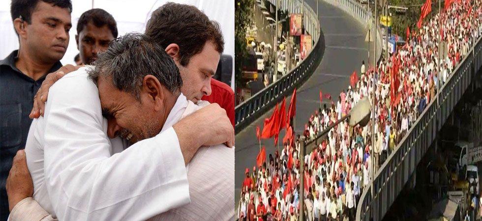 किसानों के जख़्म पर कांग्रेस का मरहम, राहुल बोलें 'अन्नदाता गिफ्ट नहीं, हक मांग रहे हैं अपना'