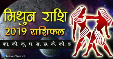 मिथुन राशि 2019 राशिफल