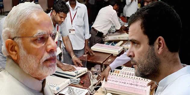 MP : चुनावी नतीज़ें से पहले ही मचा EVM पर घमासान, कांग्रेस-बीजेपी ने की दोबारा वोटिंग की मांग
