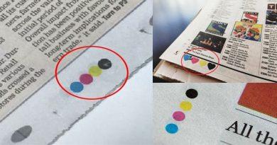कभी सोचा हैं अखबार के पेज के साइड में क्यों बनी होती हैं ये चार रंगीन बिंदिया