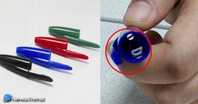क्या आपने कभी सोचा है कि पेन के ढक्कन के ऊपर छेद क्यों होता है ?