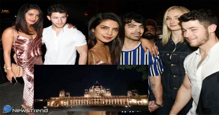 प्रियंका-निक की रॉयल वेडिंग के लिए दुल्हन की तरह तैयार उम्मेद भवन, यहां देखिये तस्वीरें