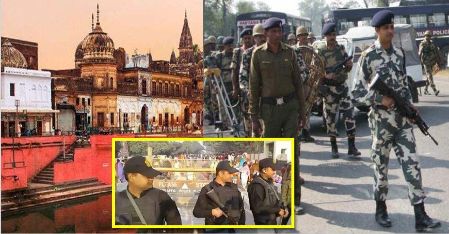 अयोध्या : वीएचपी की धर्मसभा में शामिल होंगे उद्धव ठाकरे, किले में तब्दील हुई राम नगरी