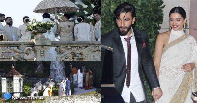 दीपिका-रणवीर की शादी की इनसाइड पिक्स, दोनों लग रहे बेहद खूबसूरत