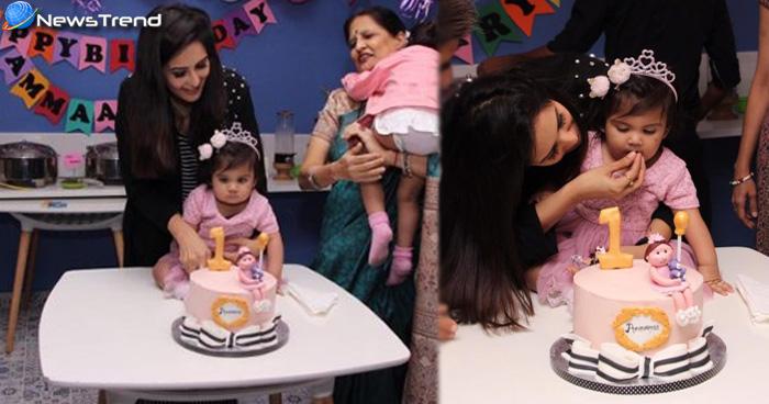 एक साल की हो चुकी है चाहत खन्ना की बेटी, जन्मदिन पर पिंक ड्रेस में वायरल हुआ क्यूट लुक