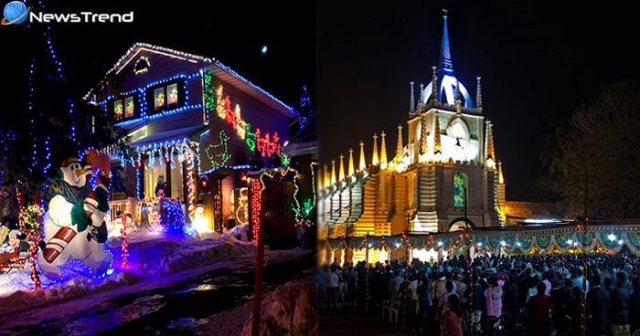 क्रिसमस मनाना हो शानदार तो भारत की ये 5 जगह है सबसे बेस्ट