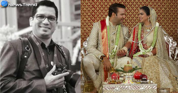 ईशा की वेडिंग पर फोटोग्राफर ने किया बड़ा खुलासा 'शादी में ली गई 1.2 लाख तस्वीरें'