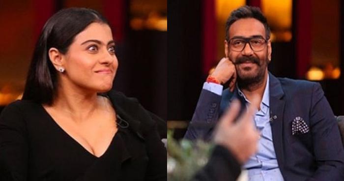 अजय देवगन के जवाब पर भड़कीं काजोल, बीच शो में कहा- जूते निकालूं क्या.....
