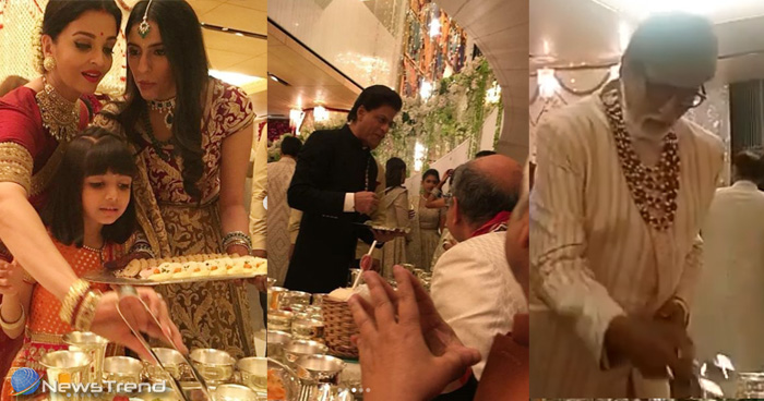 जानें किस वजह से ईशा अंबानी की शादी में बॉलीवुड सेलेब्स ने परोसा मेहमानों को खाना