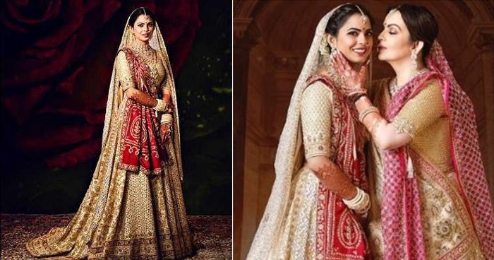 Isha Ambani Wedding:720 करोड़ की शादी फिर भी ईशा अंबानी ने पहनी पुरानी साड़ी,आखिर क्या थी वजह?