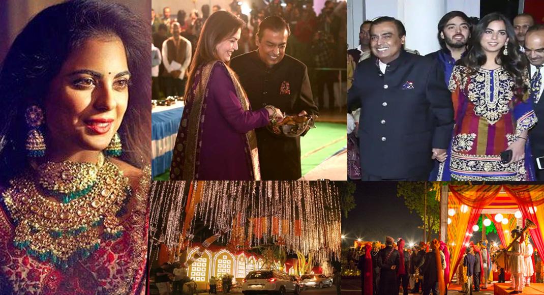 कितने खर्च कर रहे हैं मुकेश अम्बानी अपनी बेटी के शादी में, जानकर छूट जाएंगे पसीने