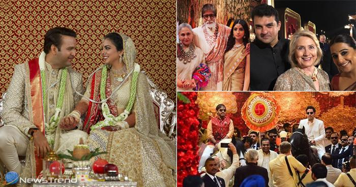 Isha Ambani Wedding: देखें ईशा अंबानी की शादी में किसने की शिरकत और कैसा था किसका लुक