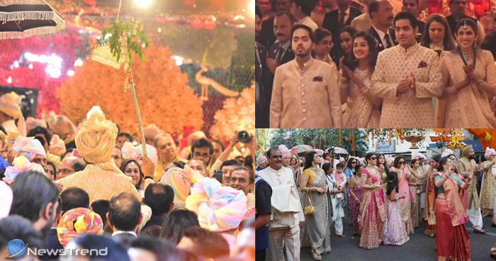 Isha Ambani Wedding: कछ इस अंदाज मं ईशा अंबानी के घर बारात लेकर पहुंचे आनंद पीरामल