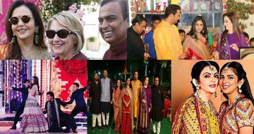 ईशा अंबानी की संगीत सेरेमनी में हुई जमकर मस्ती, पूरा बॉलीवुड पहुंचा उदयपुर, देखें तस्वीरें