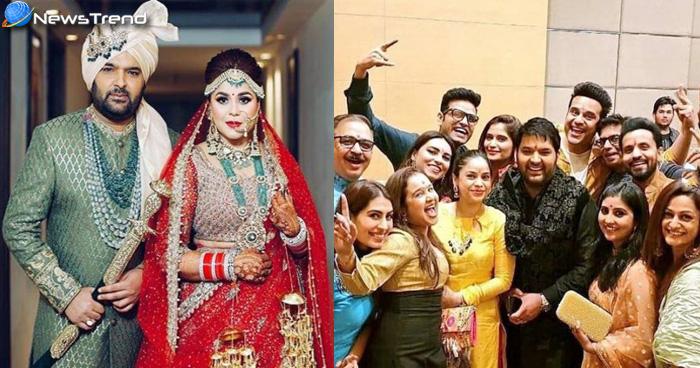 कपिल शर्मा ने गर्लफ्रेंड संग लिए साथ फेरे, शादी की तस्वीरें देख आप भी हो जाएंगे दीवाने