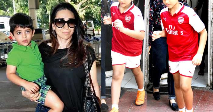 बॉलीवुड एक्ट्रेस करिश्मा कपूर का बेटा अब हो गया बड़ा, दिखने लगा है बहुत ही ज्यादा हैंडसम