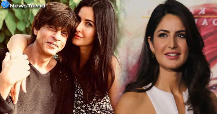 शाहरुख को किस करने वाली पहली एक्ट्रेस हैं कैटरीना, कहा- मैं लकी नहीं…..