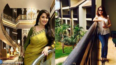 बिल्कुल राजमहल जैसा है माधुरी दीक्षित का घर, अंदर का नजारा देख तारीफ किए बिना नहीं रह पाएंगे आप