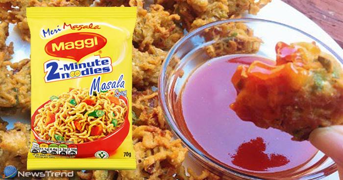 ठंडियों में खाए गर्मागर्म मैगी के पकौड़े, खाने में स्वाद है लाजवाब