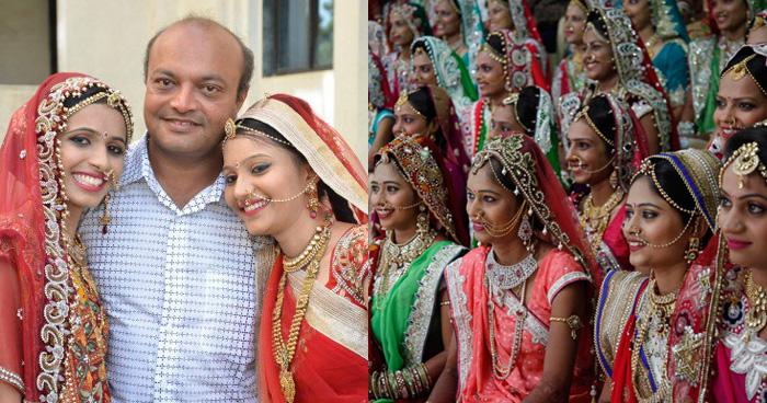 करीब 3000 बेसहारा बेटियों की शादी करवा चुका है ये हीरा कारोबारी, इन बच्चियों के लिए बाप से बढ़कर है ये शख़्स