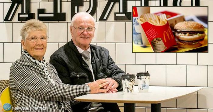 23 साल से मैकडॉनल्स में हर दिन बर्गर खाता है ये बुजुर्ग दंपति, इसके पीछे है खास वजह