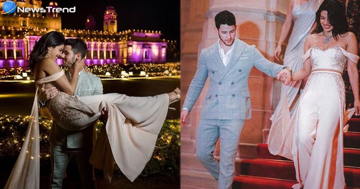 देखें प्रियंका और निक की शादी की अनसीन तस्वीरें,दोनों की केमिस्ट्री देख आप भी कहेंगे'How Cute'