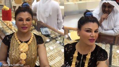 Photo of दुबई में शादी की शॉपिंग कर रही ड्रामा क्वीन बोलीं 'मेरे पास तो नहीं है पैसे, तो कैसे खरीदूं?'