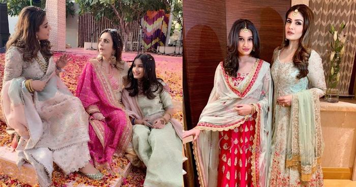 ईशा अंबानी की शादी में रवीना टंडन की बेटी ने लूटी लाइमलाइट, लहंगे में दिखीं सबसे ज्यादा सुंदर