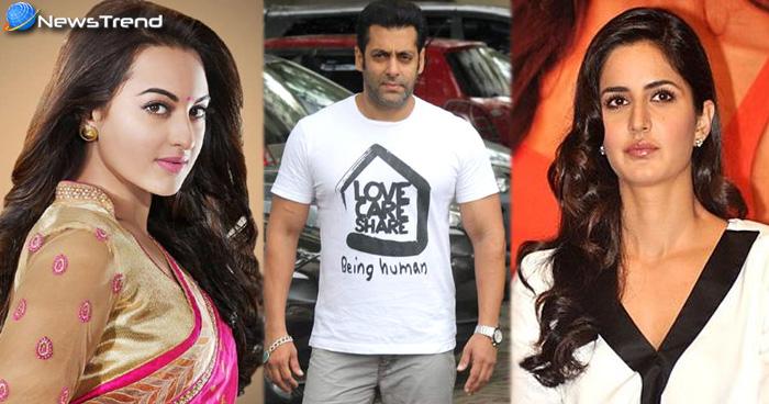 बॉलीवुड की इन 5 एक्ट्रेसेस की किस्मत सलमान खान ने चमकाई, तीसरे नंबर वाली है सबकी चाहत
