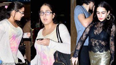 सारा अली खान ने देखिये किस तरह घटाया वज़न, पहले की तस्वीर से पहचान नहीं पाएंगे