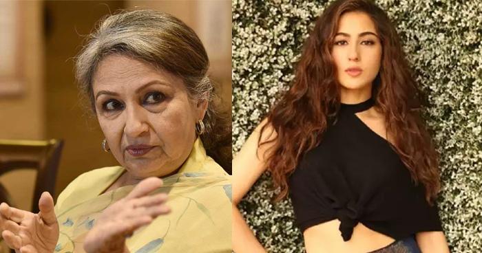 पोती सारा की इस बात से हैरान हैं शर्मिला टैगोर, पहली फिल्म देखकर कही दी ये बड़ी बात