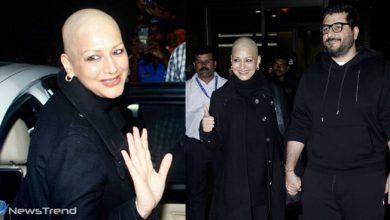 भारत लौंटी अभिनेत्री सोनाली बेंद्रे को डॉक्टर्स ने ये बोलकर किया वापस, कैंसर से जंग जारी